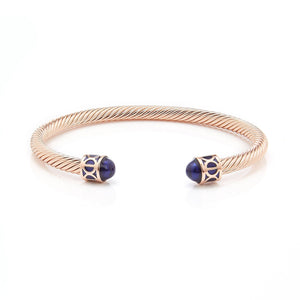 Fervor Montreal Bangle Mondial Bangles- Rose Gold Plated Vancouver