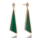 Queen of the Jungle- Scalene Earrings