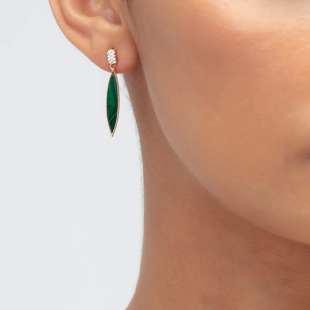 Fervor Montreal Earrings Queen of the Jungle- Slim Oval Earrings