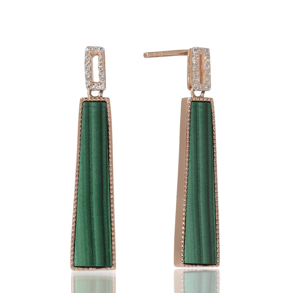 Queen of the Jungle- Trapeze Earrings