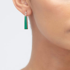 Load image into Gallery viewer, Fervor Montreal Earrings Queen of the Jungle- Trapeze Earrings