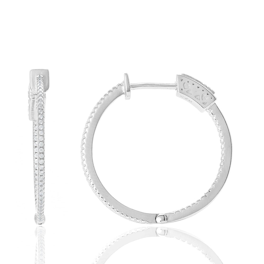 Fervor Montreal Earrings Senorita Hoops- Eternity