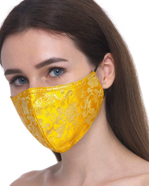 Fervor Montreal Face Mask Secrets of the Orient- Marigold & Gold