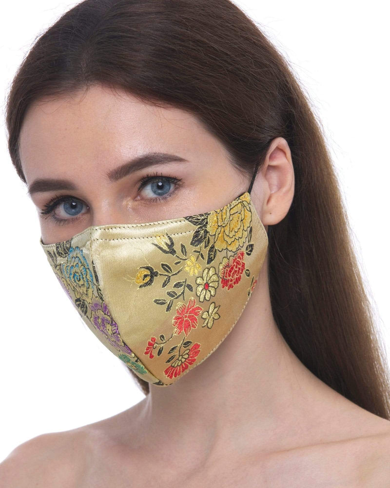 Load image into Gallery viewer, Fervor Montreal Face Mask Spring- Gold