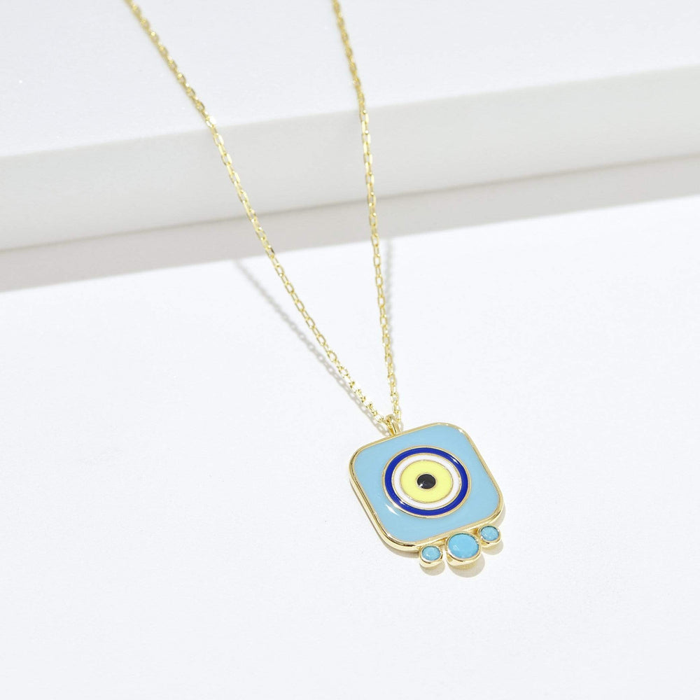 Divine Eye- Tile Necklace