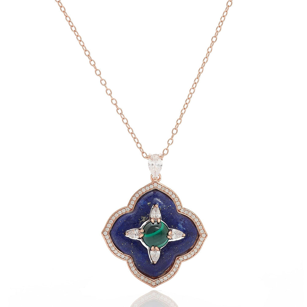 Fervor Montreal Necklace Star of the Seas- Flower of the Sea Pendant