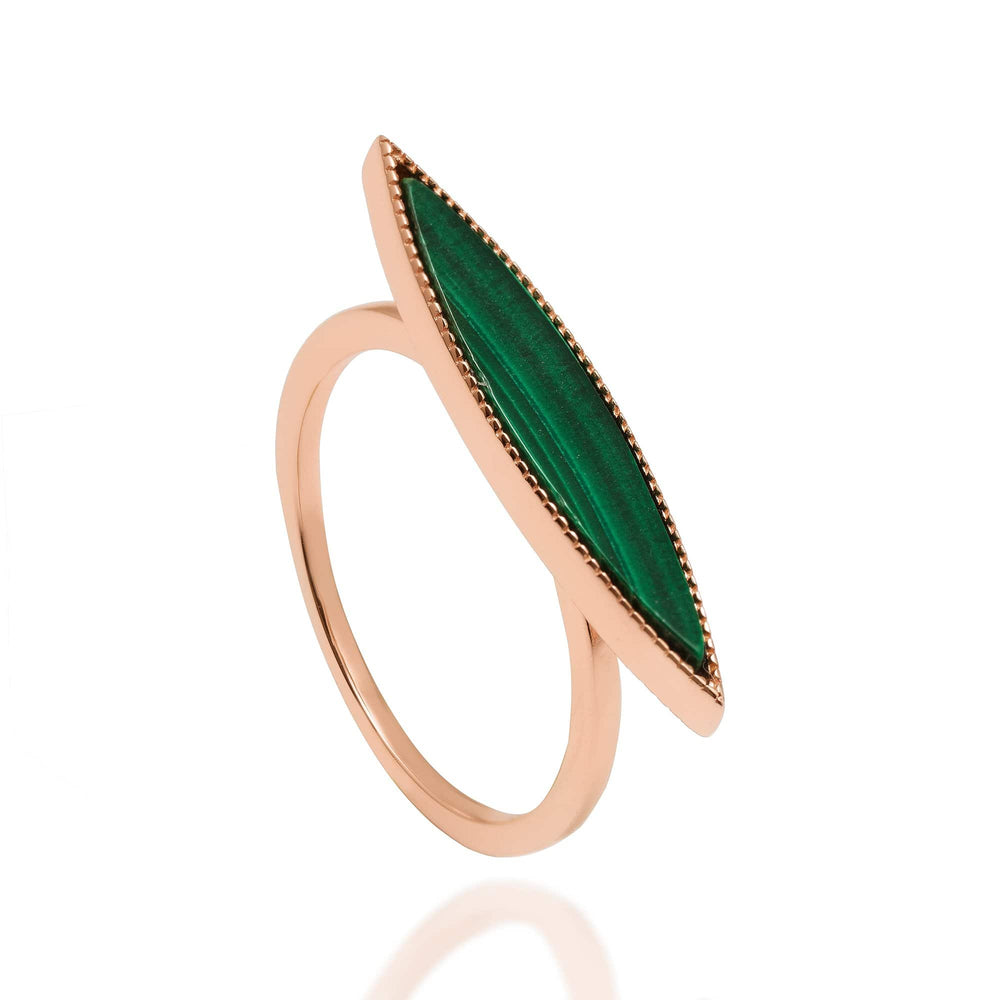 Queen of the Jungle- Slim Oval Ring
