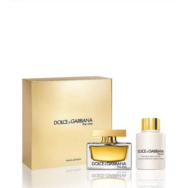 Dolce & Gabbana The One Gift Set Travel Edition 75ml EDP + 100ml Body Lotion