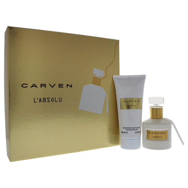 Carven L'Absolu Gift Set 50ml EDP + 100ml Body Milk