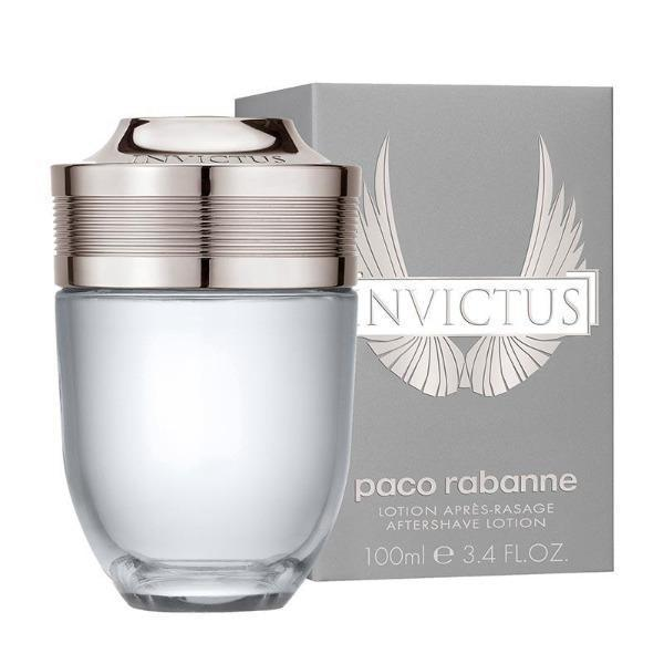 Paco Rabanne Invictus Aftershave Lotion 100ml Splash