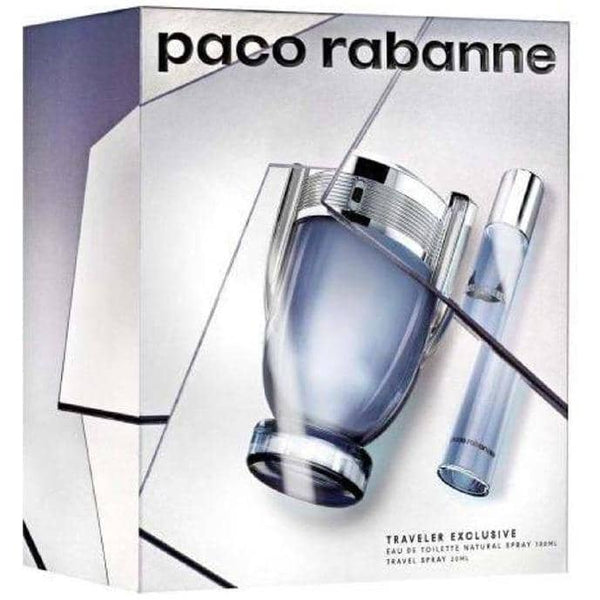 Paco Rabanne Invictus Gift Set 100ml EDT + 20ml EDT