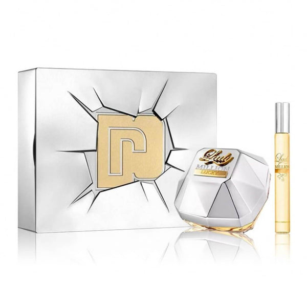 Paco Rabanne Lady Million Lucky Gift Set 80ml EDP + 10ml EDP