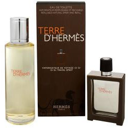 Hermès Terre d'Hermès Gift Set 30ml EDT Refillable + 125ml EDT Refill