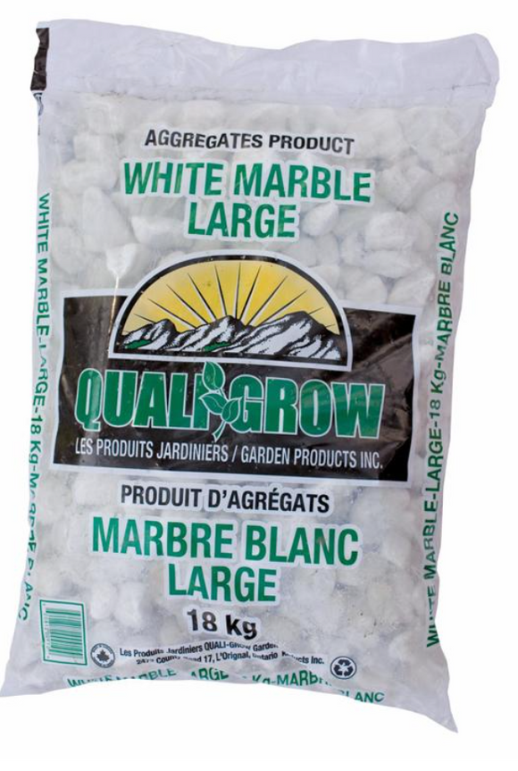 Quali Grow® White Marble