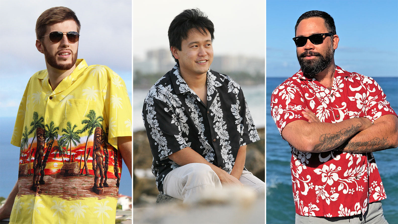 The Main Hawaiian Shirt Styles