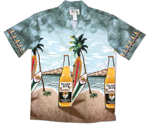 Wish You Were Beer Hawaiian shirt