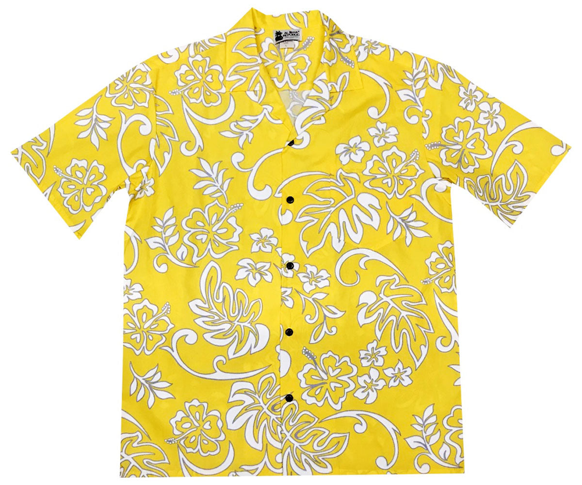Yellow Fellow Hawaiian Shirt