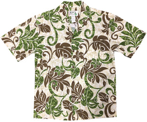 Far Out Man! Green Hawaiian Shirt