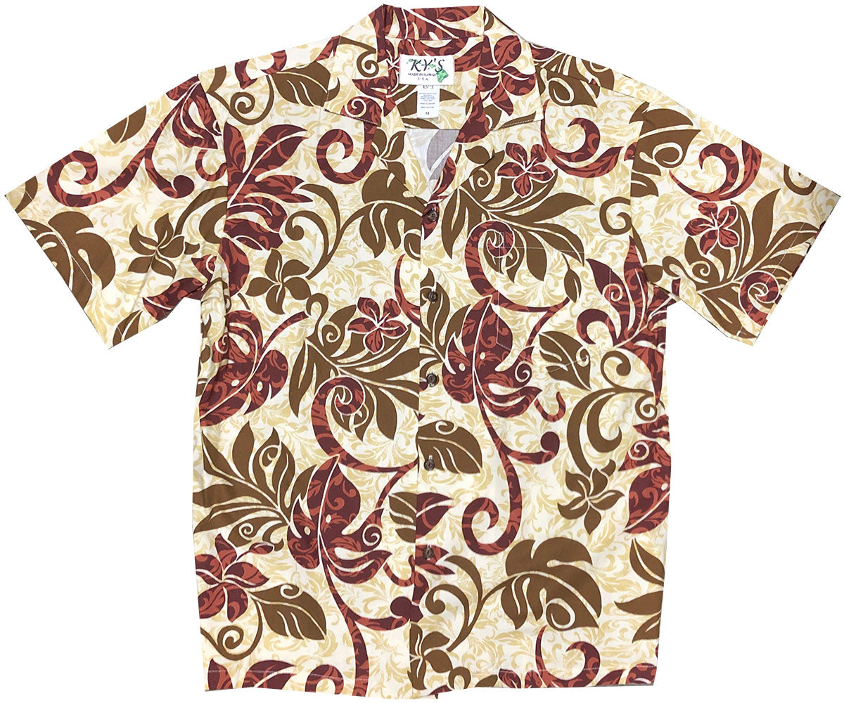 Far Out Man! Red Hawaiian Shirt