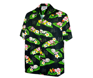 Mr. Sushi Black Hawaiian Shirt