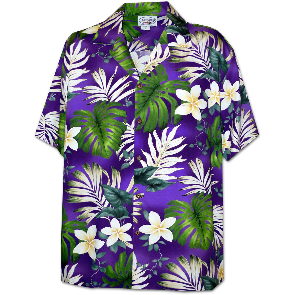 Monstera Monster Purple Hawaiian Shirt