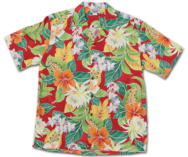 Rumble in the Jungle Red Hawaiian Shirt