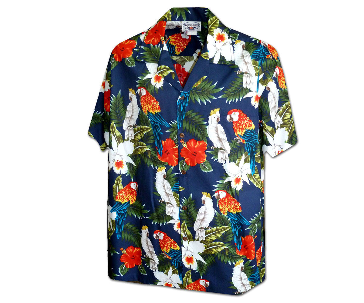 Parrot-vs-Parrot-Navy-Hawaiian-Shirt