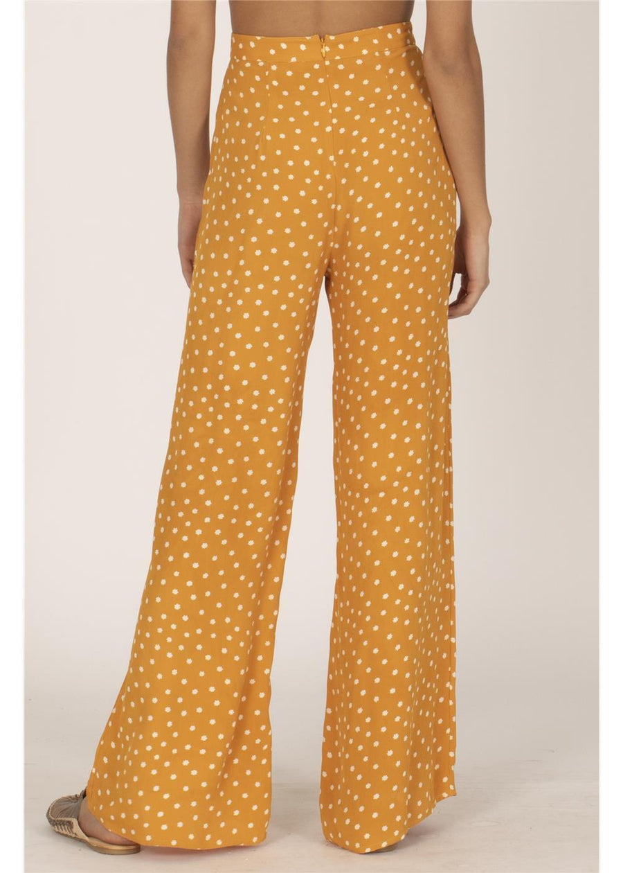 BRIGHT SIDE WOVEN  PANT-GLD