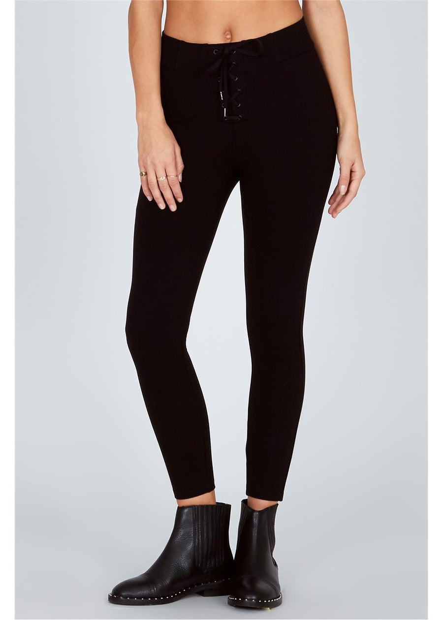 MIDDLE OF THE ROAD PANT-BLK