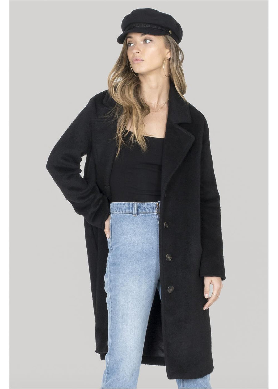 LOOKIN FAB JACKET-BLK