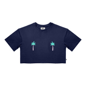 Tee-Shirt Crop Woman PALM BREAST