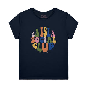 Tee-Shirt Woman LA ISLA SOCIAL CLUB SEVENTIES