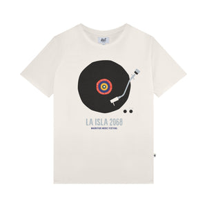 Tee-Shirt LA ISLA LP RECORD