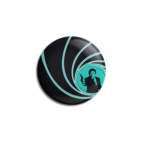 Anna Bond Badge -blue-black