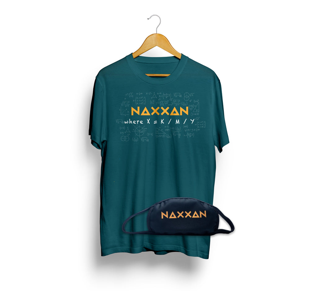NAXXAN ( Free Mask with the T shirt)