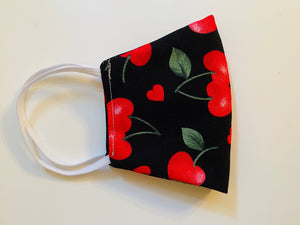 Large Size Cherry Heart Contour Mask
