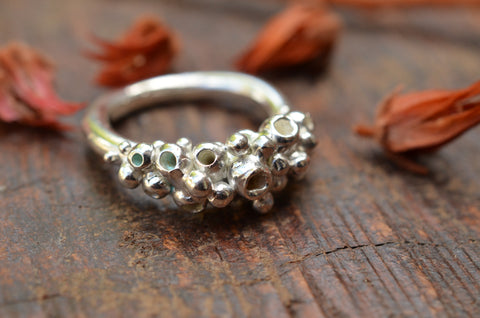 Coral Reef Ring. Size Q