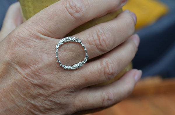 Circle Ring with Granulation