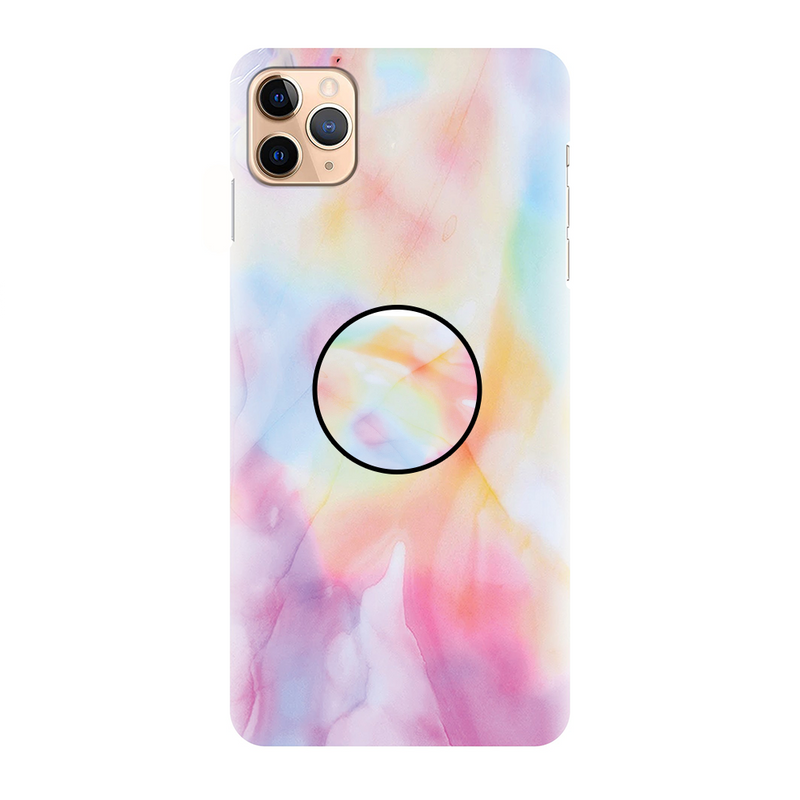Pink Latest Simple Marble Printed Back Cover