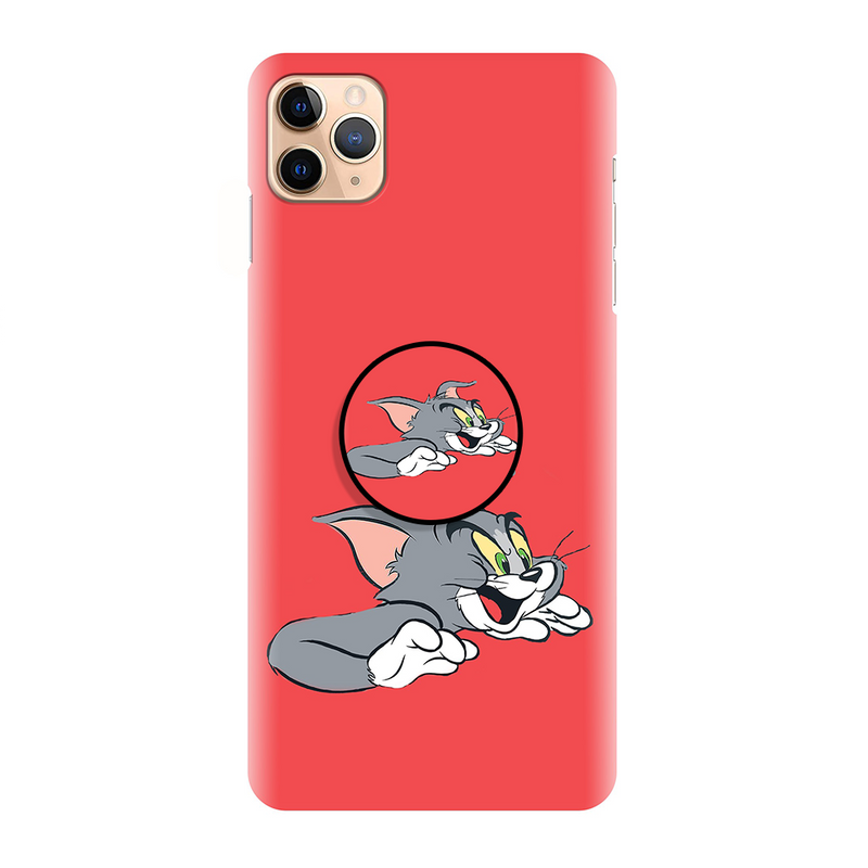 Red Latest Cartoon Printed Back Cover