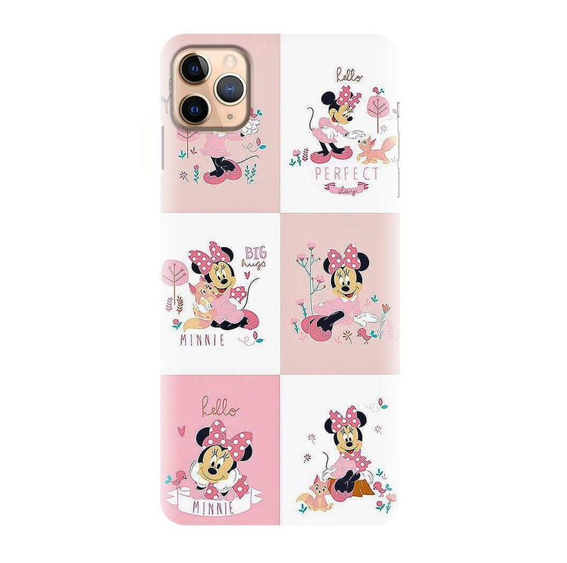 Pink Cute Minni Pattern Printed Back Cover