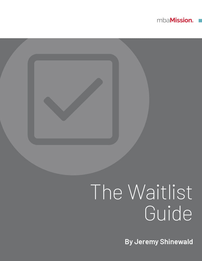 mbaMission Waitlist Guide