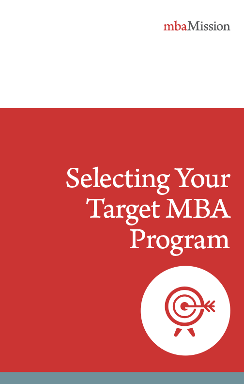 Selecting Your Target MBA Program eBook
