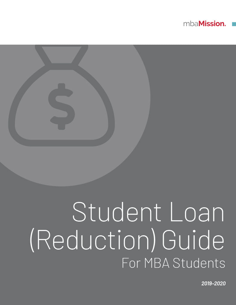 MBA Student Loan Reduction Guide