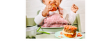 Baby's First Vegan Burger - Charlotte Stirling-Reed