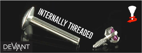 Internally Threaded