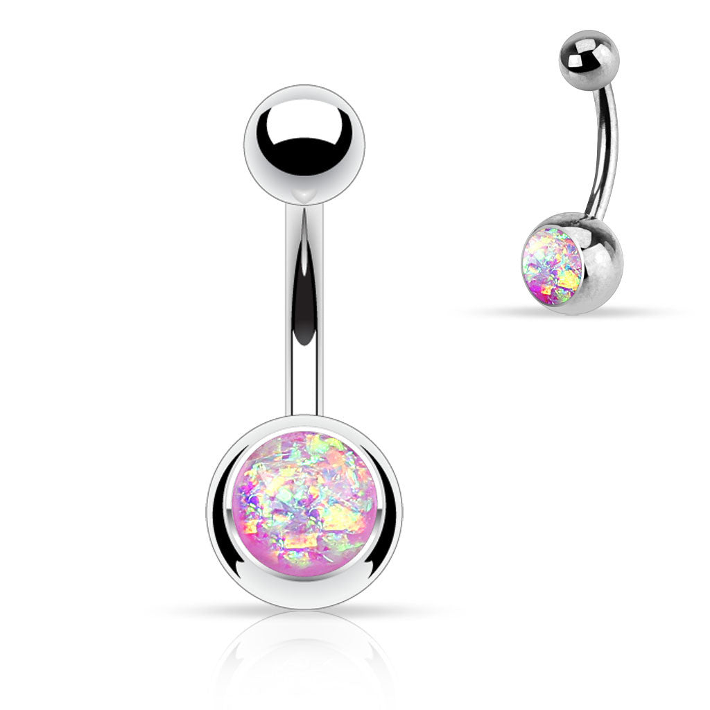 belly ring cute navel opal na products white fits jewelry rings button turtle fire body naval in bodydazzles