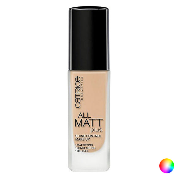 Fluid Makeup Basis All Mat Plus Catrice (30 ml)