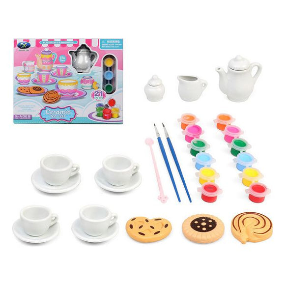 Bastelset Tea Time 119930 (21 pcs)