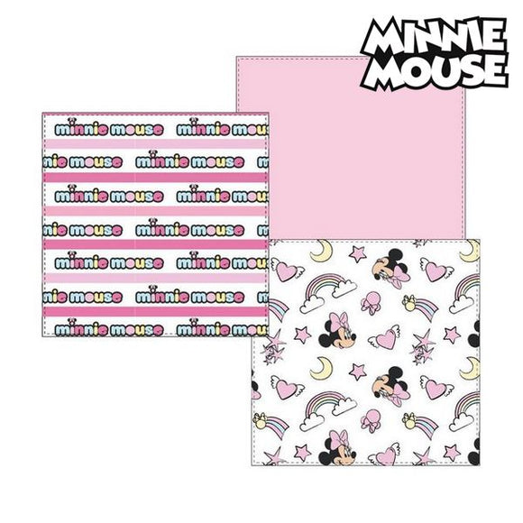 Musselin-Tuch Minnie Mouse 75381 Rosa (3Er pack)